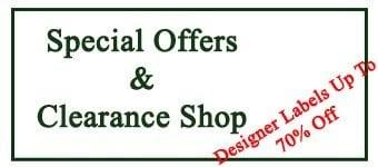 Ladies fashions designer clearance sale.