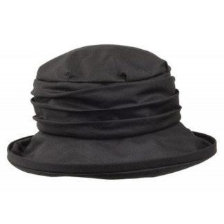 Olney Annabel Black Wax Hat. Style R4600.