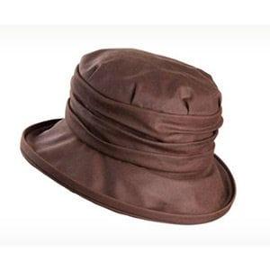 Olney Annabel Brown Wax Hat. Style R4600.