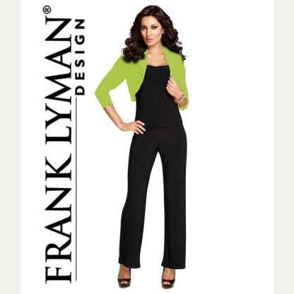 Frank Lyman 3/4 Sleeve Lime Bolero Style 020.