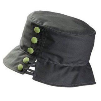 Olney Olivia Olive & Apple Green Wax Hat.