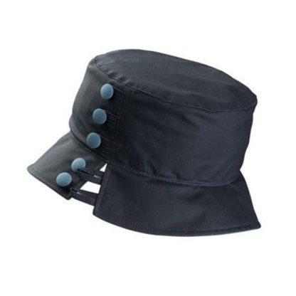 Olney Olivia Navy Wax Hat.