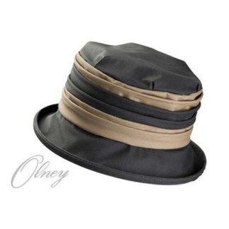 Olney Ruby Charcoal & Khaki Wax Hat.