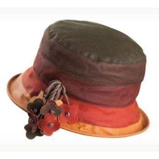 Olney Ruth Olive Multi Wax Hat.