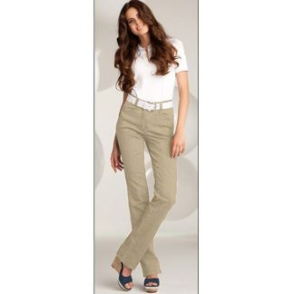 Michele Magic jeans in Beige.
