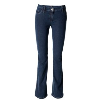 Michèle Magic Blue/Black Bootleg Jeans Style 8366.