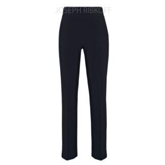 Joseph Ribkoff Straight Leg Black Ankle Pants Style 143015.