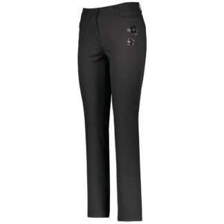 Gerry Weber Black Romy Trousers Style 622019.