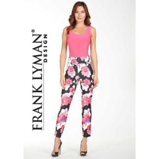 Frank Lyman Floral Ankle Pants Style 176688.