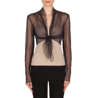 Joseph Ribkoff Sheer Cover Up Style 181179.
