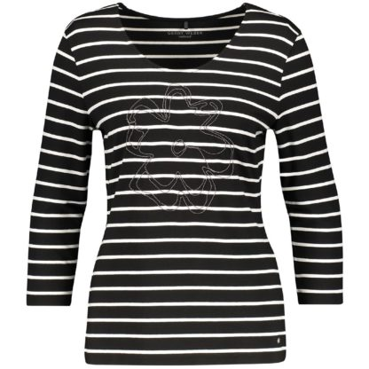 Gerry Weber Black/White Top Style 670024.