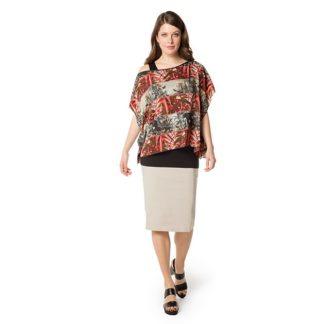 Doris Striech Stone Skirt Style 929760.