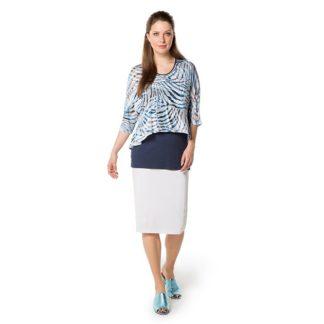 Doris Striech White Skirt Style 929760.