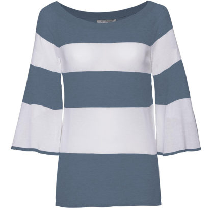 Monari Italia Stripe Sweater Style 403687.