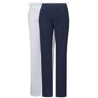 Joseph Ribkoff White Slim/Trim Jeans Style 181960W.