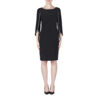 Joseph Ribkoff Black Dress Style 183026.