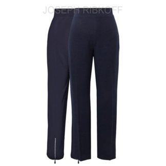 Joseph Ribkoff Black Ankle Zip Pant Style 174090.