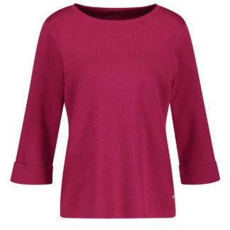 Gerry Weber Dark Pink Cotton Sweater Style 770511.