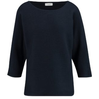 Gerry Weber Navy Cotton Sweater Style 770546.