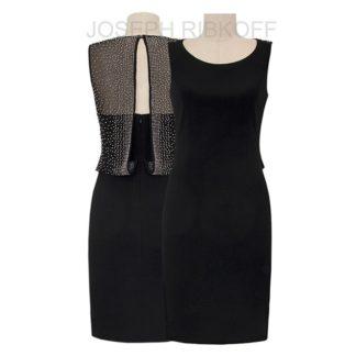Joseph Ribkoff Black Dress Style 183413.