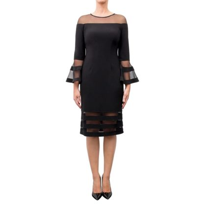 Joseph Ribkoff Black Dress Style 183417.