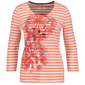 Gerry Weber Orange Stripe Top Style 770070.