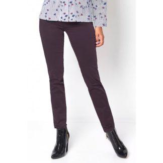 Toni Plum Cotton Jeans Style 1230-52.