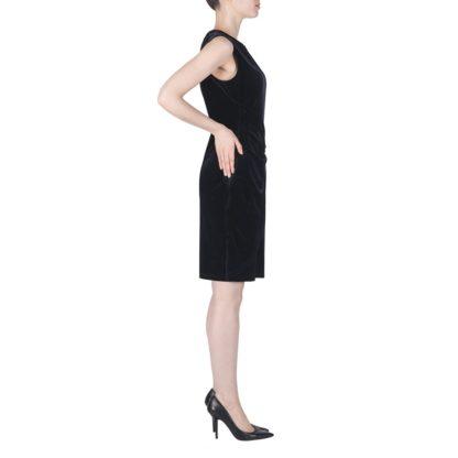 Joseph Ribkoff Navy Velvet Dress.