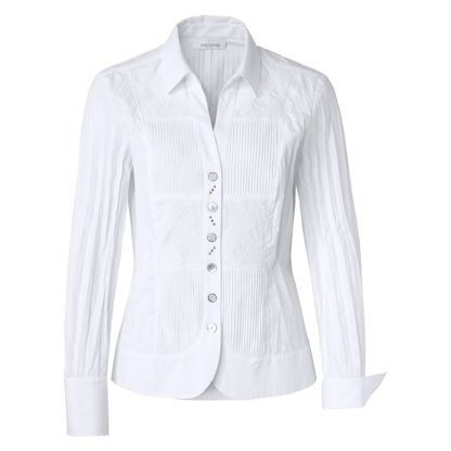 Just White Blouse Style 49667.