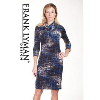Frank Lyman Velvet Dress Style 183868.