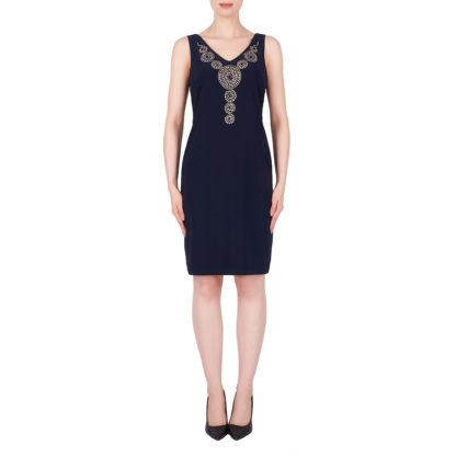 Joseph Ribkoff Midnight Blue Dress Style 191003.