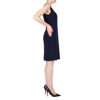 Joseph Ribkoff Midnight Blue Dress.