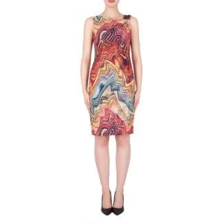 Joseph Ribkoff Multi Sequin Dress Style 19167.