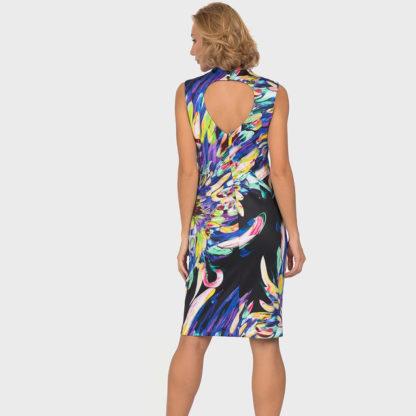 Joseph Ribkoff Black/Multi Dress.