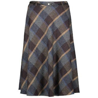Gerry Weber Check Skirt Style 710145.