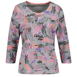 Gerry Weber Graffiti T Shirt Style 870034.