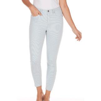 FDJ Olivia Pinstripe Slim Ankle Pants Style 2910828.