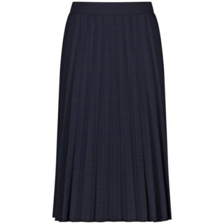 Gerry Weber Navy Pleated Skirt Style 810001.