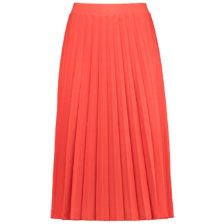 Gerry Weber Orange Pleated Skirt 810001.