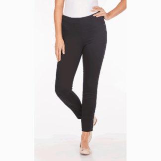 FDJ Black Pull On Ankle Pants Style 273906N.