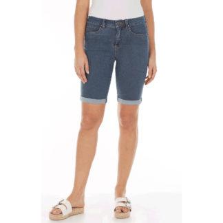 FDJ Olivia Bermuda Denim Shorts Style 2911222.