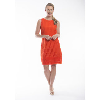 Orientique Broderie Flame Cotton Dress Style 51501.