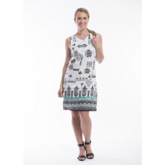 Orientique Reversible Cotton Dress Style 51517.