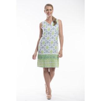 Orientique Organic Cotton Reversible Dress Style 71192.