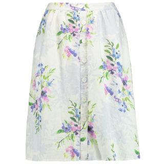 Gerry Weber Linen Print Skirt Style 810145.