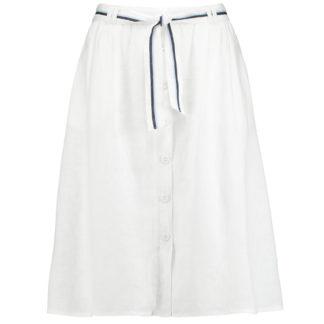 Gerry Weber White Linen Skirt Style 810146.