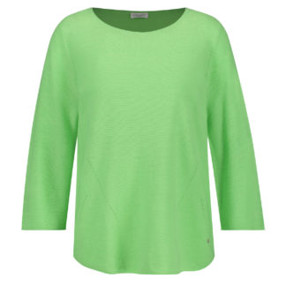 Gerry Weber Greengage Cotton Sweater Style 870674.