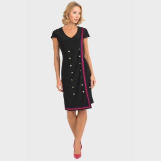 Joseph Ribkoff Black Dress Style 193006.