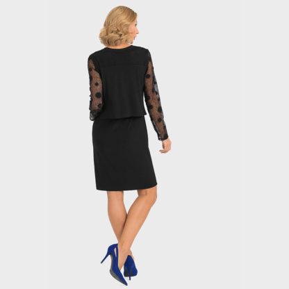 Joseph Ribkoff Black Dress.