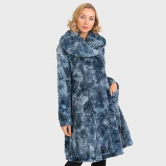 Joseph Ribkoff Steel Blue Coat Style 193720.